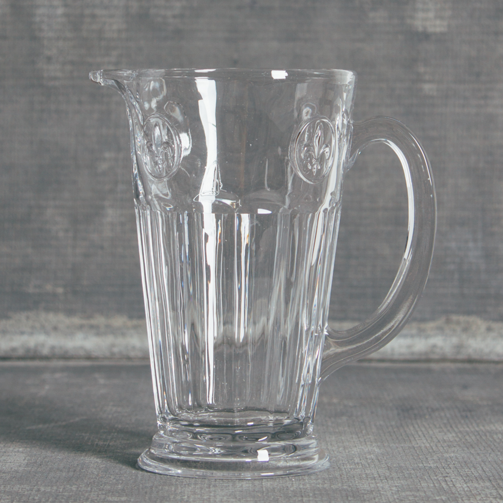 Soda Lime Glassware Collection Pitcher Relish Decor