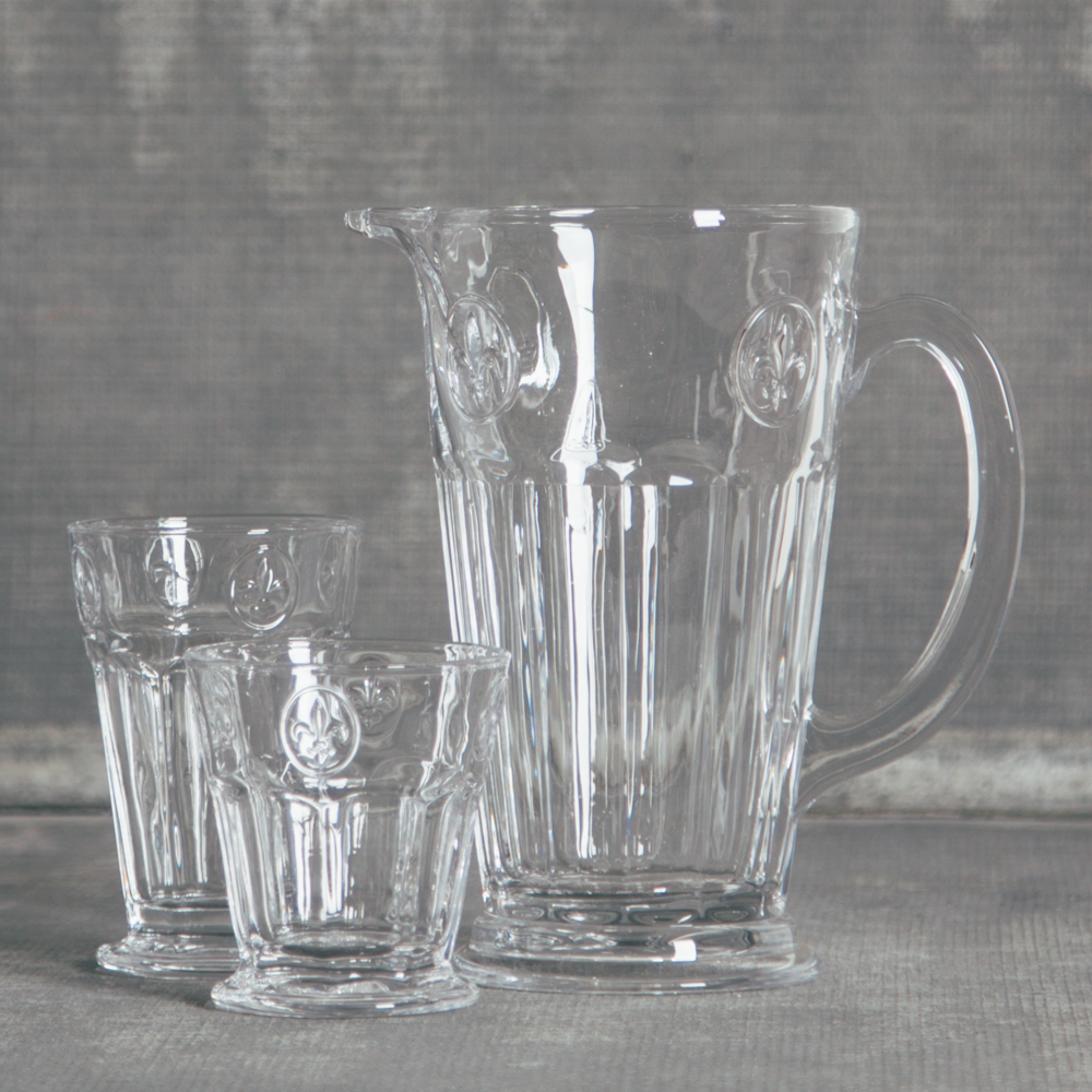 Soda Lime Glassware Collection Relish Decor