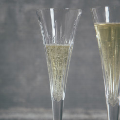 Soho Crystal Toasting Champagne Flutes Relish Decor