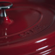 Staub Cherry Red Dutch Oven Cast Iron Cookware Collection Relish Decor