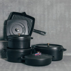 Staub Matte Black Cookware Dutch Oven Relish Decor