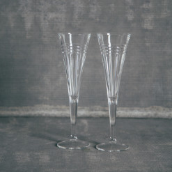 Tempo Crystal Toasting Champagne Flutes Relish Decor