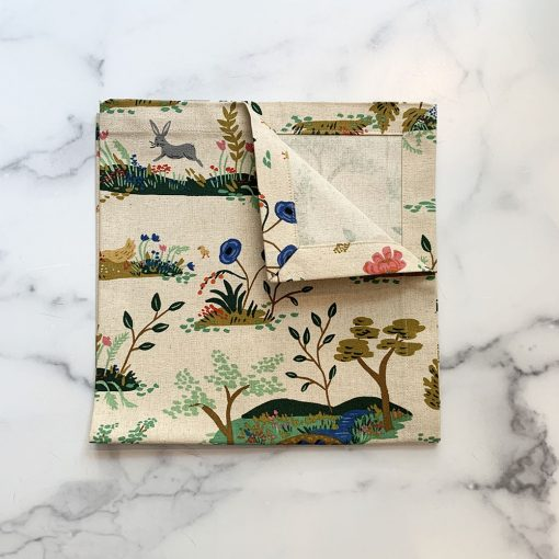 The-Local-Project-Napkin-Set-of-4-English-Garden-Toile-Natural-2