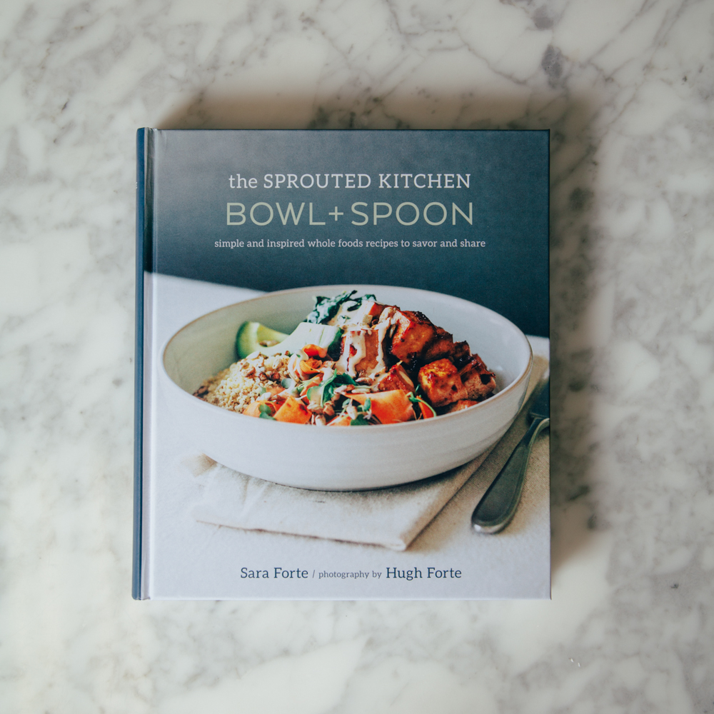 The Sprouted Kitchen Bowl and Spoon Cookbook Relish Decor