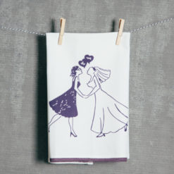 We Do Women Wedding Tea Towel Fishs Eddy Relish Decor