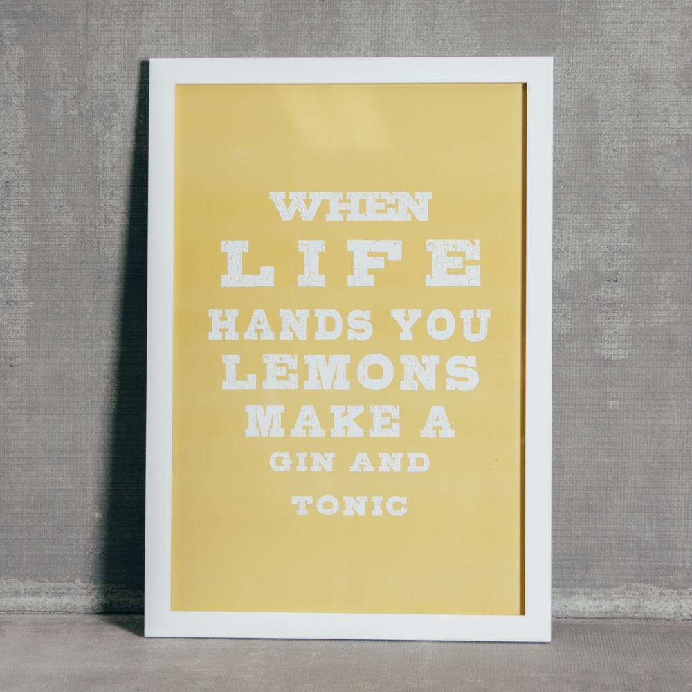 When Life Hands You Lemons Wall Art - Relish Decor