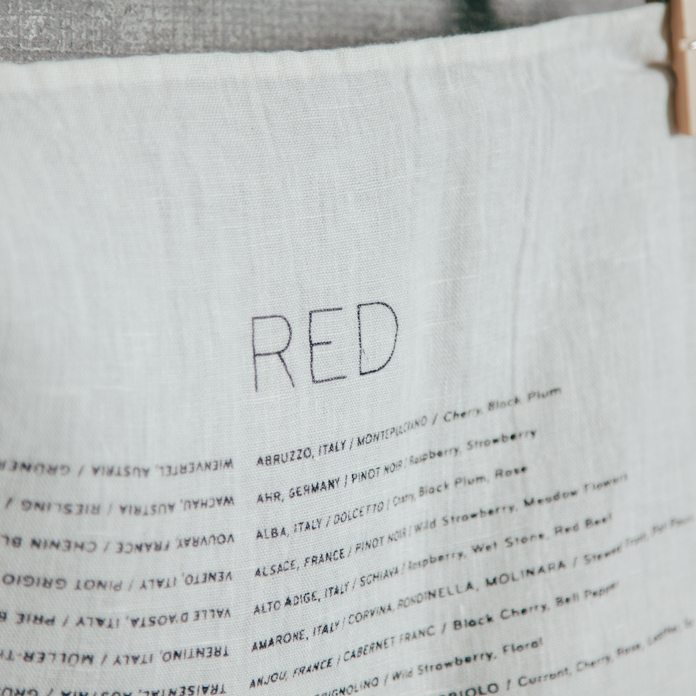 Wine Varietals Pure Linen Red Wines Towel Sir Madam for Relish Decor