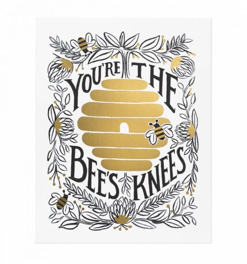 rifle-paper-co-youre-the-bees-knees-art-print-relish-decor