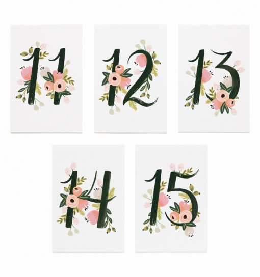 rifle-paper-co-botanical-table-numbers-relish-decor