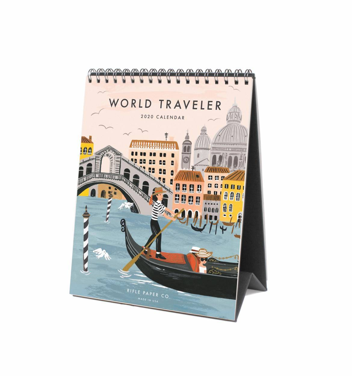 World Traveler Desk Calendar