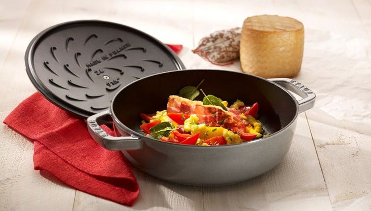 Relish Decor Staub Piperade Recipe