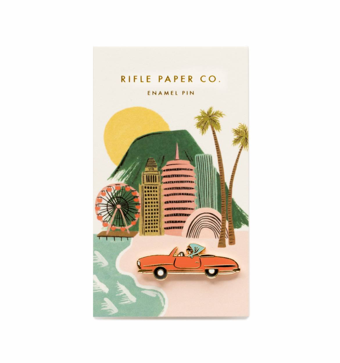 Car Enamel Pin