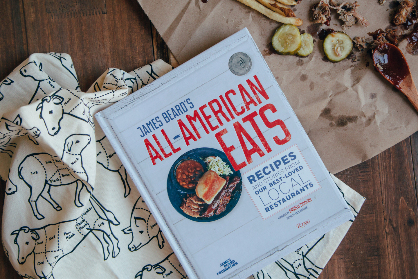 james beard all american eats cookbook review relish decor