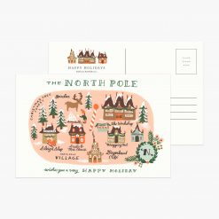 rifle-paper-co-north-pole-map-postcard-pack-relish-decor