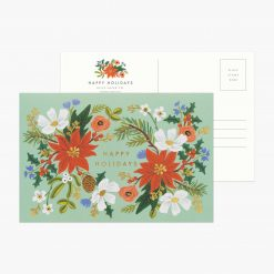 rifle-paper-co-holiday-floral-postcard-pack-relish-decor