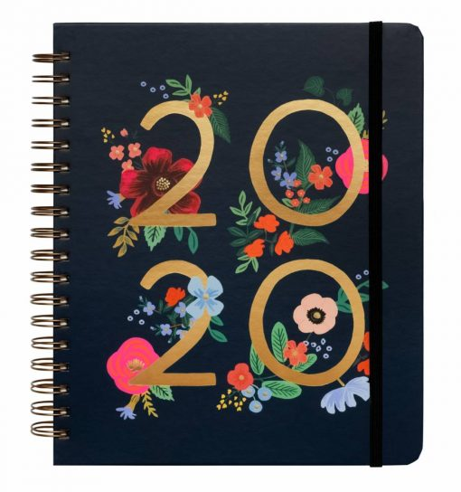 rifle-paper-co-wild-rose-spiral-planner-relish-decor