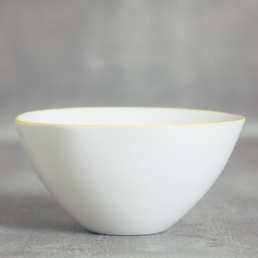 relish decor abbesses canvas home dinnerware yellow cereal bowl