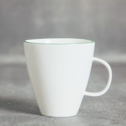 relish decor abbesses canvas home dinnerware green coffee mug