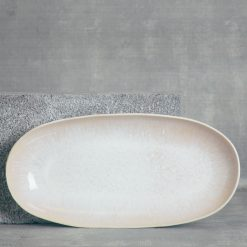 relish decor casafina serving ibiza sand oval small platter