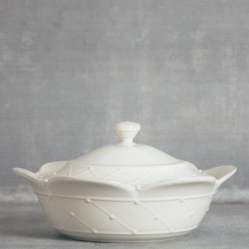 meridian relish decor casafina serving covered casserole dish cream