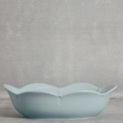 meridian relish decor casafina serving oval bowl blue