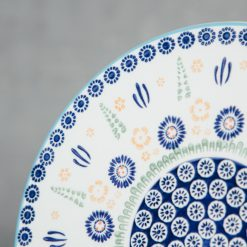 relish decor chelsea dinnerware serveware polish pottery cheese plate tray detail