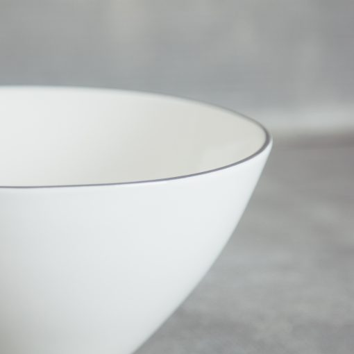 relish decor abbesses grey serving bowl canvas home