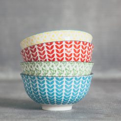 relish decor lotta patterned bowls