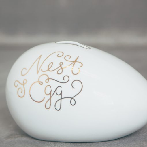relish decor nest egg piggy bank wedding gift