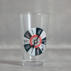 relish decor spin to win pint glass beer drinking game