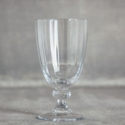 Relish decor lenox reed and barton crystal heritage glassware set collection wine water goblet