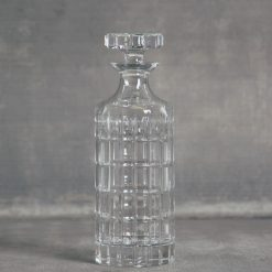 relish decor lenox reed and barton duncan tall crystal square decanter